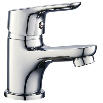 Picture of Silver Brass BASIN mixer