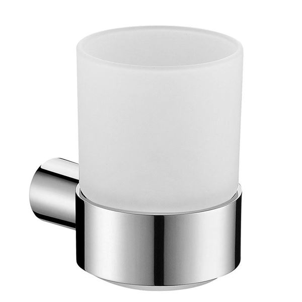 Picture of Bijiou Monaco Tumbler Holder, Solid Brass, round style
