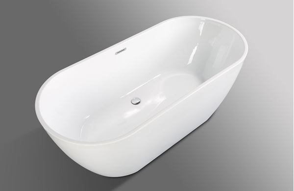 Picture of SALE BAHAMA Freestanding acrylic bath 1690 x 750 x 580 mm H