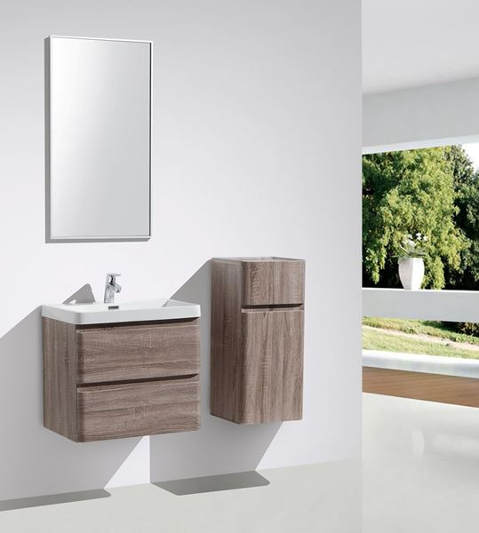 Picture of SILVER OAK Contemporary Bathroom cabinet 600 mm L, 2 drawers DELIVERED to CAPE TOWN