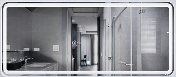 Picture of Luxurious  Double LED Mirror 1400 x 600 mm H with touch up light switch