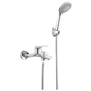Picture of Bijiou Maine contemporary BATH mixer SET with hand shower