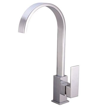 Picture of BLACK FRIDAY Tanzanite square KITCHEN sink mixer DECK type
