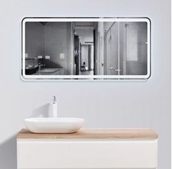 Picture of Lazio Bathroom cabinet 1200 mm with 1 large  drawer, wooden countertop and basin