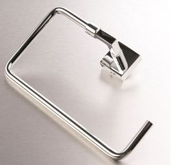 Picture of IMOLA Towel RING, Solid Brass, square style