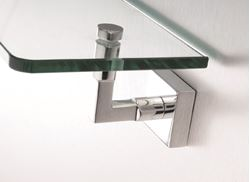 Picture of IIMOLA GLASS Shelf, Solid Brass and Glass