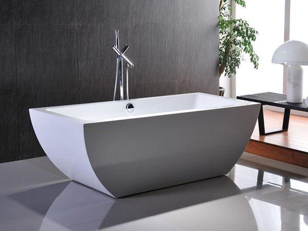 Picture of SALE ex Cape Town Bijiou Caen Freestanding Seamless Acrylic bath 1700 x 800 x 600 mm H