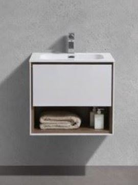 Picture of Versace 600 mm L bathroom cabinet SET with 1 drawer and cubbyhole