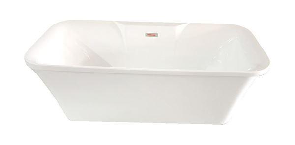 Picture of Bijiou Corsica freestanding rectangular bath 1700 x 800 x 600 mm H