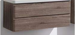 Picture of Milan SILVER OAK cabinet BODY 1200 mm L with 2 drawers