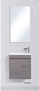 Picture of Enzo narrow bathroom CONCRETE cabinet SET 540 x 325 mm, DELIVERED to Cape Town
