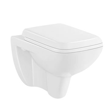 Picture of SALE Bermuda wall hung toilet with toilet seat Ex Cape Town